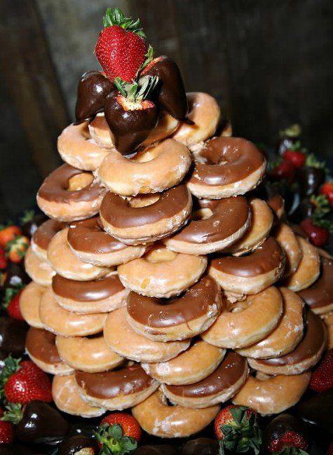 Ryan Taylor S Groom Cake Krispy Kreme Tower