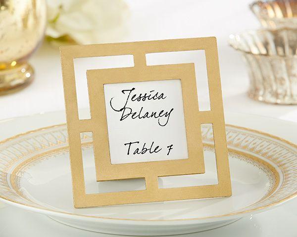 Wedding Favor Ideas Gold Photo Frame Wedding Favor 2241386 Weddbook