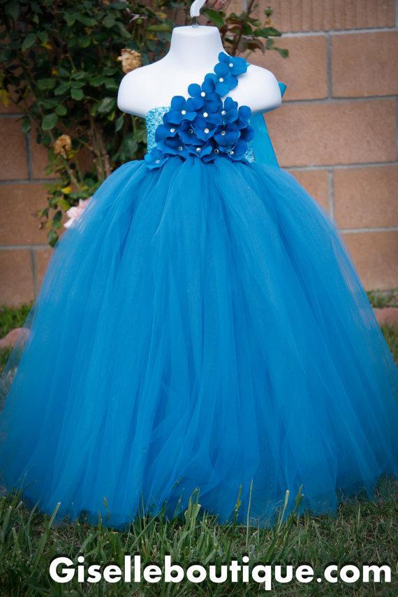 Wedding Flowers Teal Dresses 115