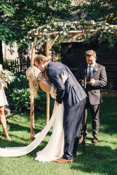 Hochzeit - Detachable Silk Chiffon Train for Annie Wedding Gown