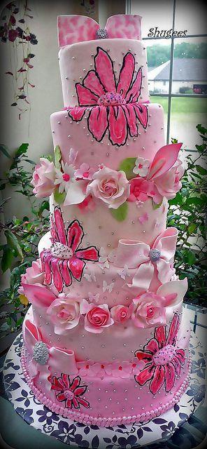 Свадьба - Cakes - Elegant
