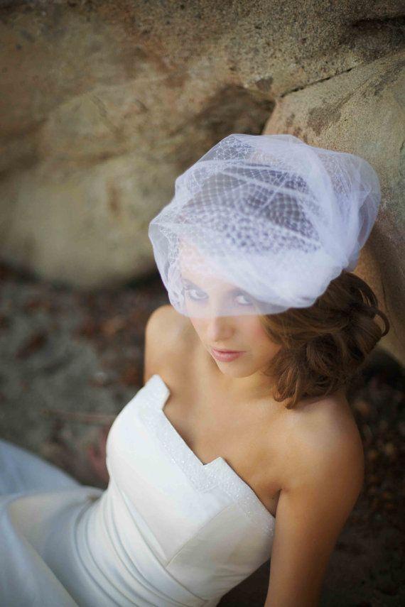 Wedding - Birdcage Veil