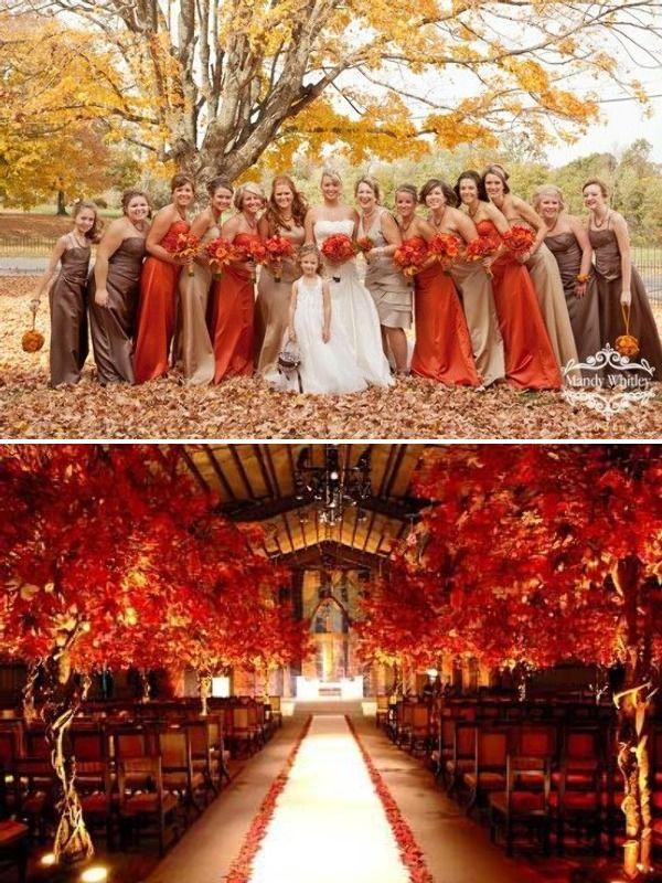 Fall Wedding 10 Ways To Rock Your Fall Wedding 2242073 Weddbook