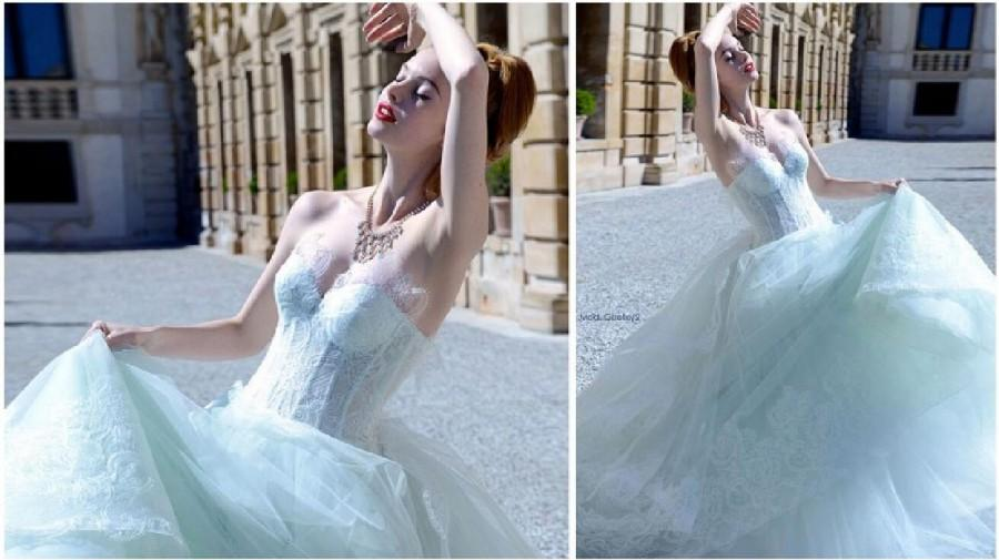 Wedding - Exquisite Lace Atelier Aimee Wedding Dresses 2015 Fall Color Chapel Vestido De Novia Tulle Sweetheart A-Line Bridal Dress Ball Gown Online with $120.14/Piece on Hjklp88's Store
