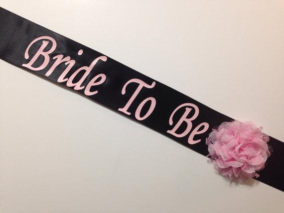 bachelorette sash bridal shower sash basic design your own sash