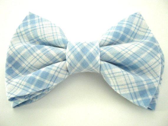زفاف - Dog bow tie Blue bow tie Large dog bow tie Bowtie for dog Wedding dog bow tie Pet bow tie Small dog bow tie