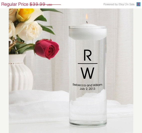 Mariage - Personalized Unity Candle - Floating Candle_376_mg5