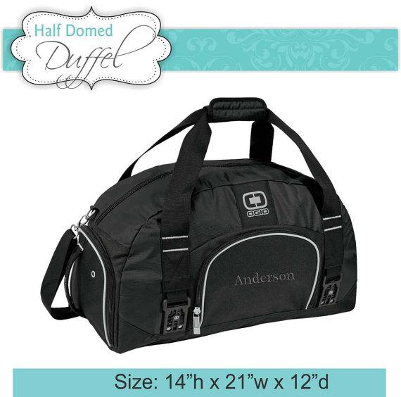 Mariage - 3 Duffel Bags OGIO Brand  Monogrammed Groomsmen Gift