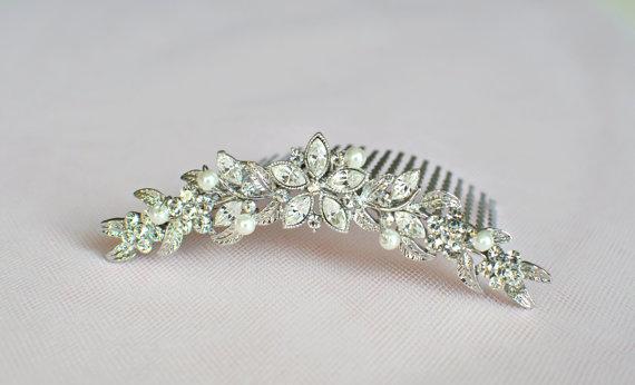 Boda - Wedding hair comb, wedding hair comb, bridal hair accessories, wedding hair