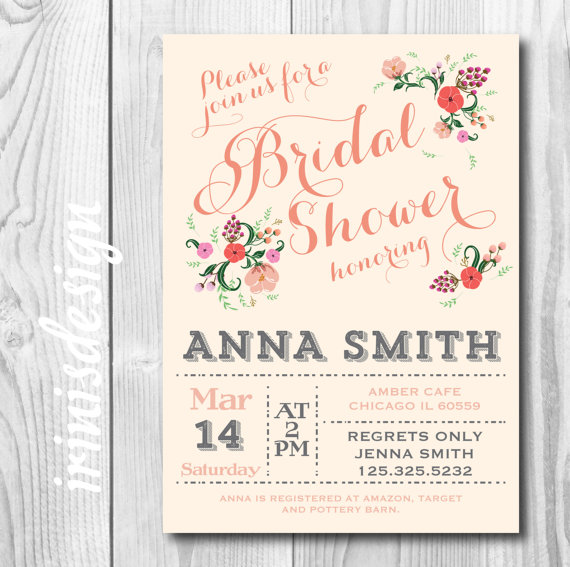 Shabby Wedding Invitations is best invitation design