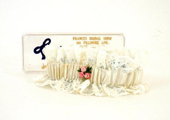 Mariage - Lace Wedding Garter from Frances Bridal Shop Buffalo NY