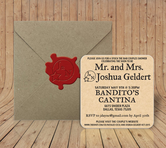 Mariage - Reserved Listing for Jenna - 40 Coasters/40 Envelopes