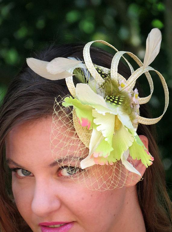 Apple Green Fascinator 238faf7a233