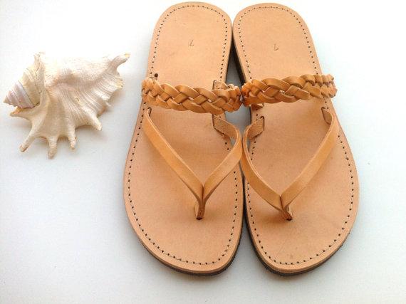 Pelle Sandalos, Handmade Greek Sandalos, Wedding Sandles , Wedding ...