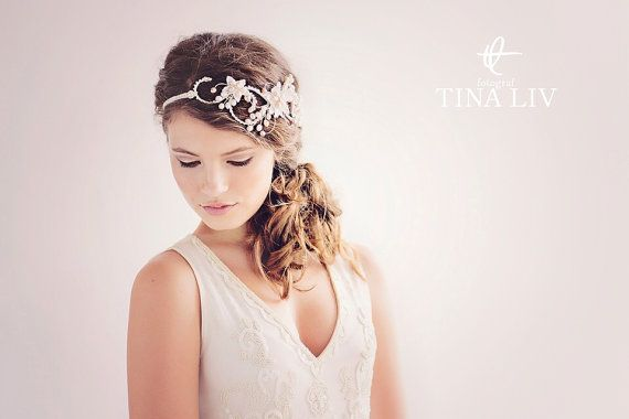 Phenomenal Bohemian Bridal Hair Accessories Boho Bridal Headpiece The Hairstyle Inspiration Daily Dogsangcom
