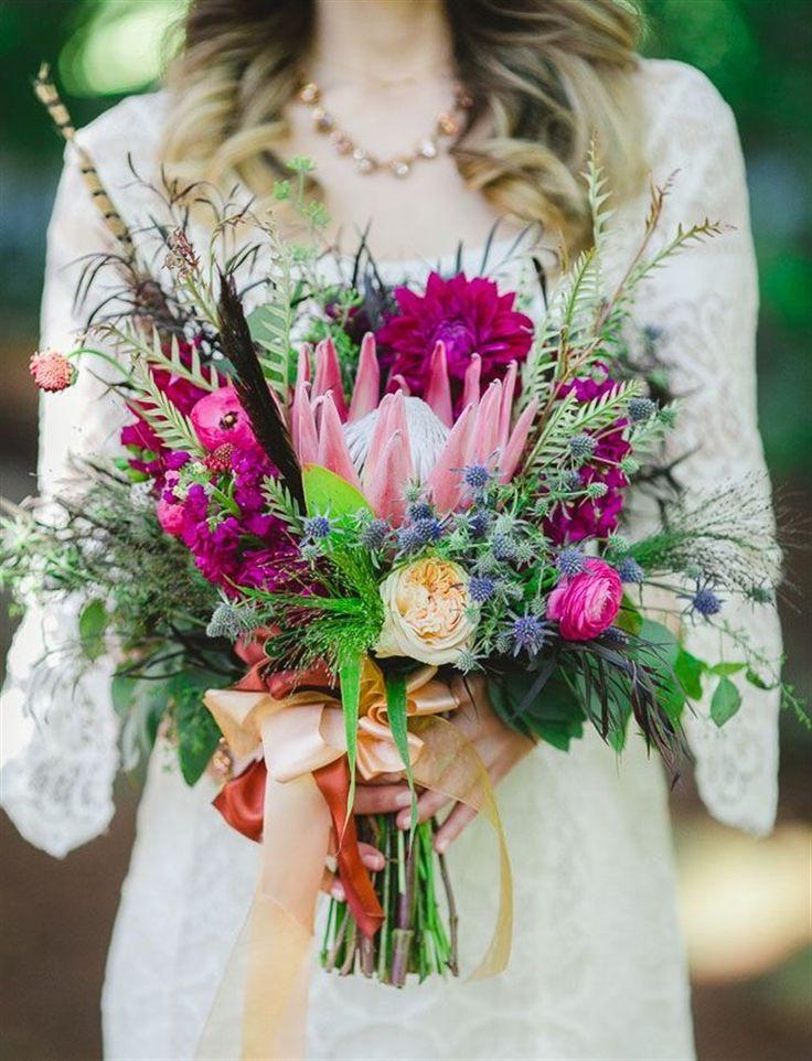 Wedding - 21 Gorgeous Bridal Bouquet Inspirations