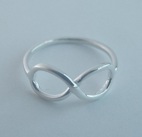Wedding - Infinity ring, infinity rings, best friends ring, engagement ring, promise ring, graduation ring, bridesmaid ring, infinity jewelry