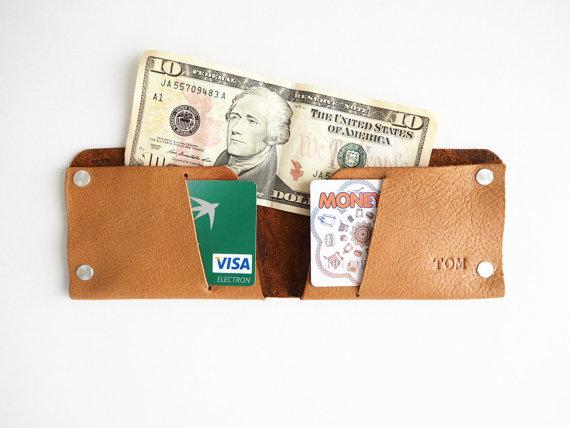 Свадьба - Men's Wallet,Men Wallet,Man Wallet,Groomsmen Gift wallet,For Him,Personalized Wallet,Gift for father,Custom Wallet,Minimalist Wallet,