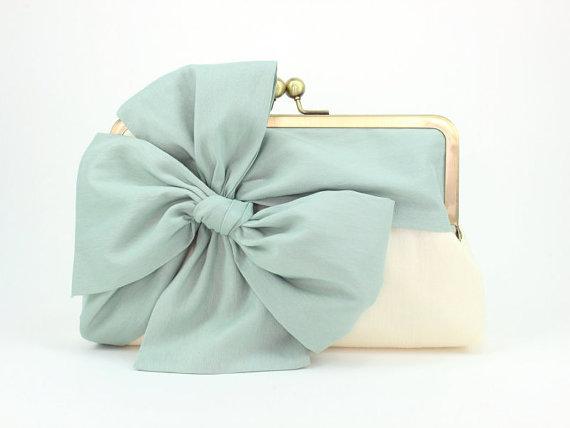Mariage - Mint Clutch