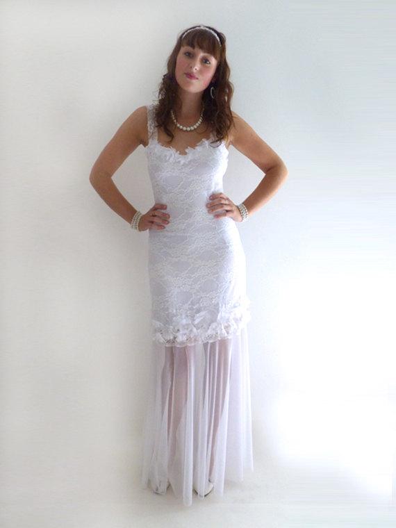 Lace Wedding Dress-wedding Dress /lace Fishtail Wedding Dress ...