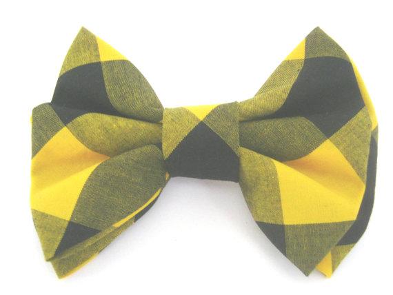 Свадьба - Dog Bow Tie ,Plaid Dog Bow Tie ,Bow Tie For Dog , Dog Collar Accessory ,Dog Bow Tie Wedding