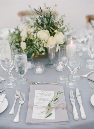 Mariage - Romantic Ivory   Grey Ojai Valley Inn Wedding