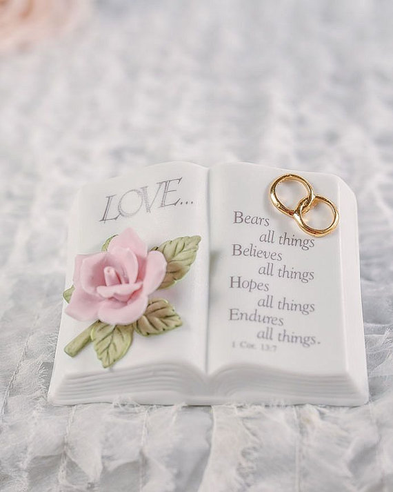 زفاف - Love Verse Bible Wedding Cake Topper