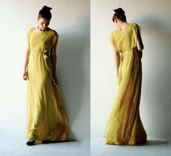 Wedding Dress, Boho Wedding Dress, Hippie Wedding Dress, Bohemian ...