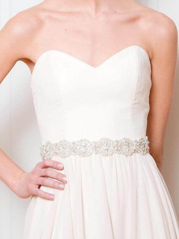 Mariage - Bridal Sash