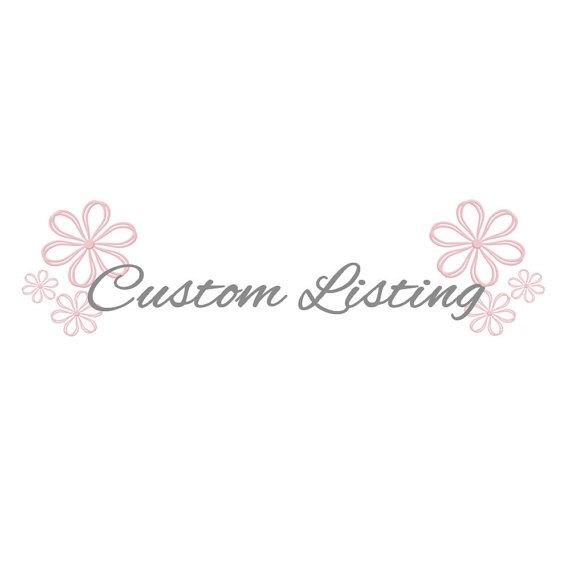 Mariage - Custom listing for Alexia - 1 Custom sign