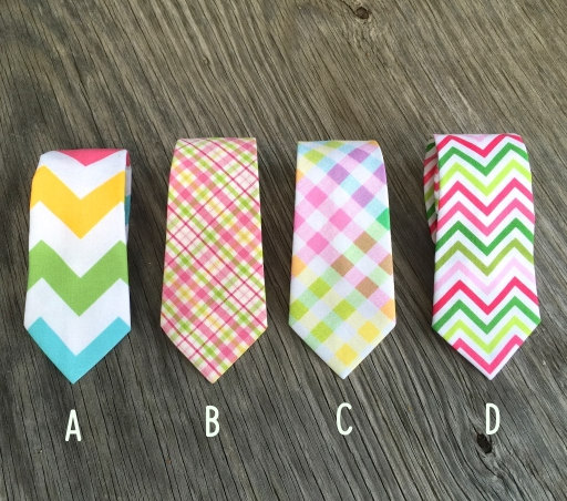 Hochzeit - Spring Neck Tie - Ties for Men - Ties for Boys - Easter Tie - pink tie - pastel ties - Men's Ties - Spring Wedding - Groomsmen Ties - Tie