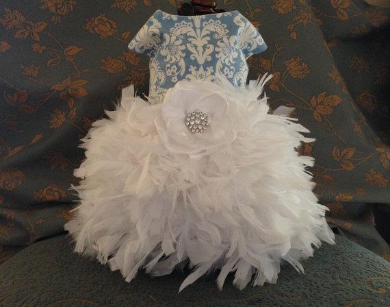 Свадьба - Something Blue Wedding Dog Dress