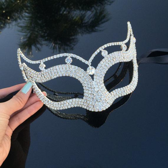 The Crystal Bridal Collection Masks Princess Masquerade Wedding