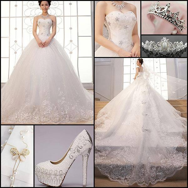Wedding - Beautiful Wedding Dress