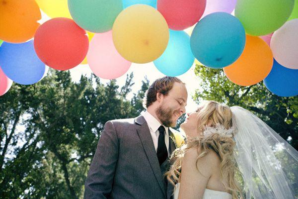 Wedding - Wedding Ideas By Color: Rainbow