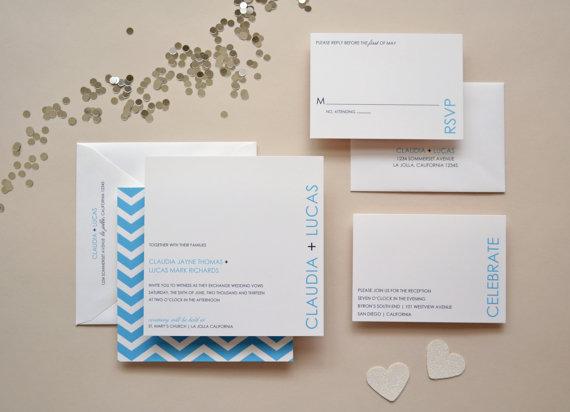 Свадьба - Wedding Invitation Sample - The Saybrook Suite