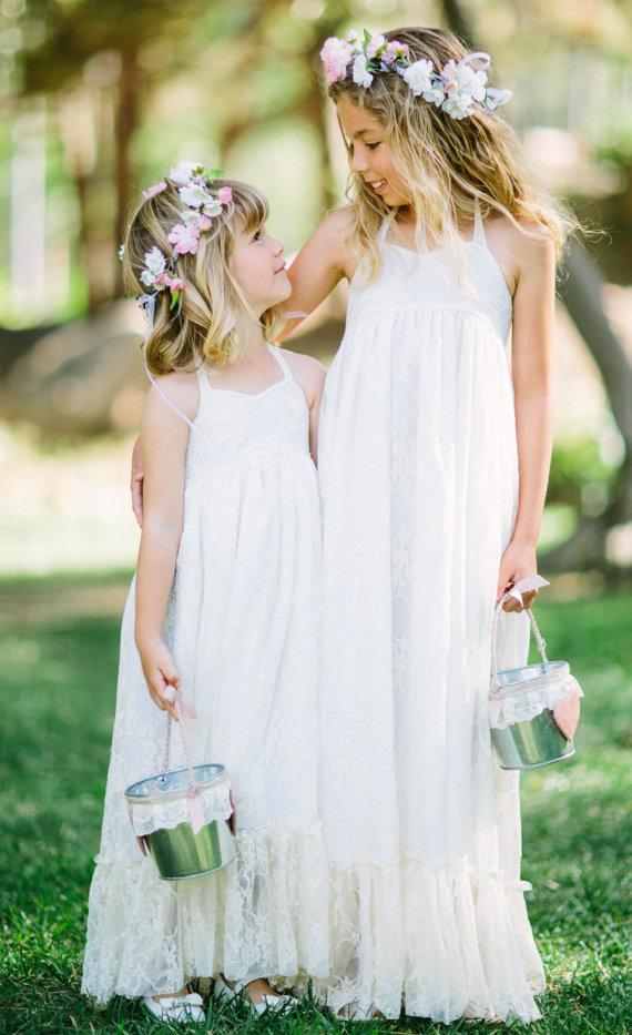 Flower Girl Maxi Dress