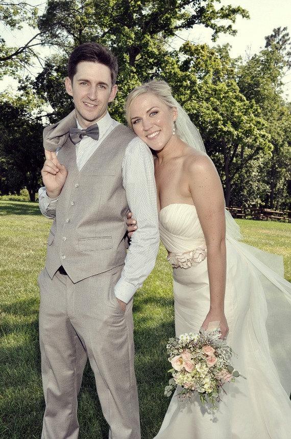 Свадьба - Champagne Wedding Sash, Bridal Sash, Wedding Belt, Bridal Belt -Champagne Flowers