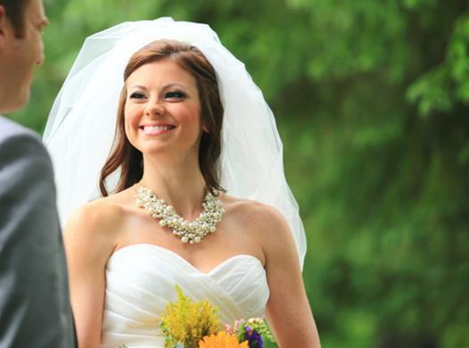 Hochzeit - Bubble veil, 25 inch 2 tier (which includes the blusher) puffy, bridal veil, wedding veil
