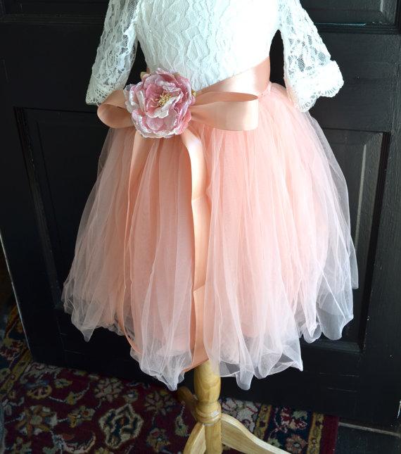 Юбки для девочки свадьба