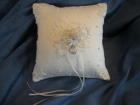 Свадьба - WEDDING ring bearer pillow