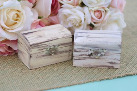 زفاف - Rustic Jewelry Box Ring Bearer Pillow Alternative Custom (Item Number 140278)