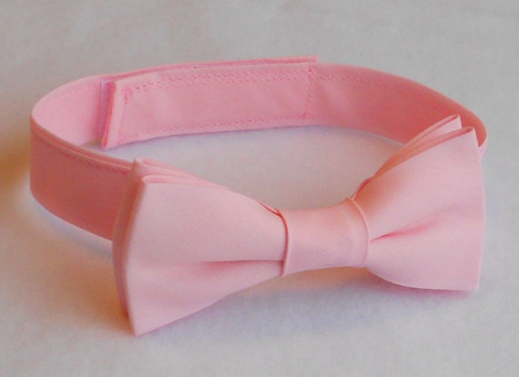 Свадьба - Light Pink Bowtie - Infant, Toddler, Boys