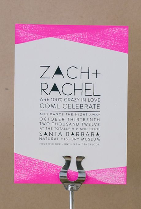 Wedding - Geometric Wedding Invitations