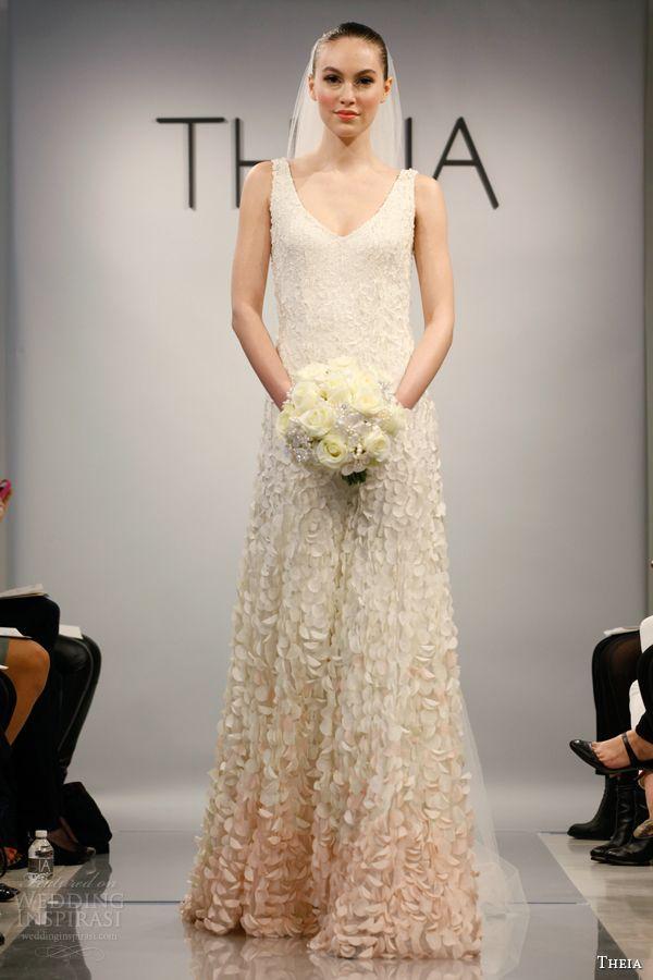 Wedding - Theia Spring 2014 Wedding Dresses