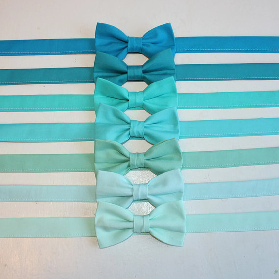 Mariage - Turquoise, Mint, Aqua, Seafoam, Teal Bow Tie kids, toddler, baby, boys, ringbearer, wedding, photoshoot, Mint Wedding