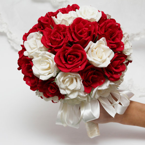 زفاف - paper wedding bouquet, wedding bouquets, bridal bouquet, paper bouquet, bridesmaids bouquets, paper flowers, paper roses