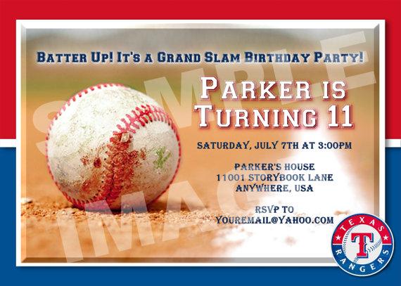 زفاف - Baseball Invitation - Sports Birthday Invitation - All-Star Party Printable Invite - MLB, AL, NL, College - Adult, Boy, Teen - Custom