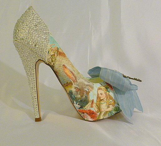 59c39d44f490 Alice in wonderland shoes alice shoes alice custom heels women