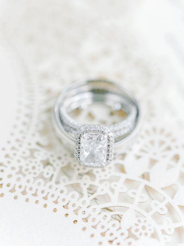 Wedding - Cushion Cut Engagement Ring